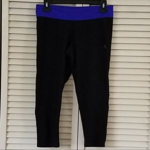 ADIDAS CLIMALITE CROPPED LEGGINGS YOGA/RUNNING